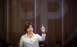 Santamaría a Sánchez: «Lo que toca es llevar el Estado a Cataluña»