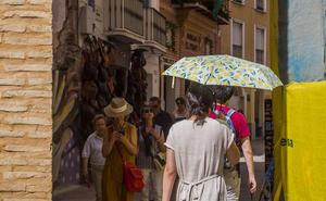 Meteorología activa el primer aviso por calor en Málaga