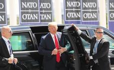 Trump acusa a Alemania de «enriquecer a Rusia» por depender de su gas