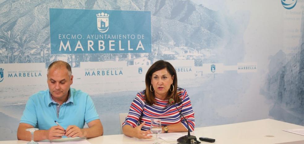 El Castillo de Marbella afronta su consolidación ante el riesgo de ruina en algunos tramos de muralla