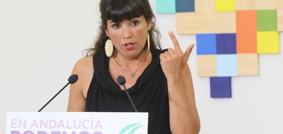 Teresa Rodríguez dice que se replanteará seguir al frente de Podemos si pierde las primarias