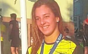 La nadadora fuengiroleña María de Valdés, subcampeona de España en 1.500 libre