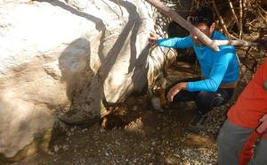 La misteriosa desaparición de un arroyo del río Manilva