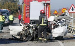 Aumentan los fallecidos en las carreteras malagueñas en el último año