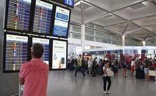 El aeropuerto de Málaga gana un 3,1% de pasajeros en el primer semestre