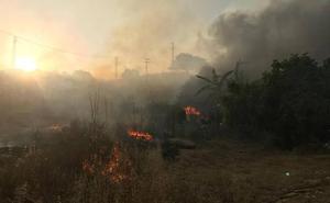 Estabilizado un nuevo incendio forestal en la zona de Mijas