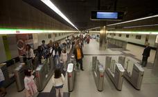 Metro de Málaga roza los 3,2 millones de viajeros en el primer semestre del año