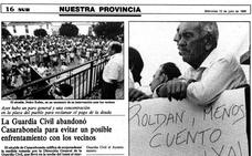 El día que Luis Roldán ordenó desalojar el cuartel de la Guardia Civil de Casarabonela