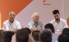 Los tres aspirantes de Ciudadanos por Málaga se reúnen con los afiliados
