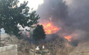 El Infoca da por controlado el incendio forestal declarado en Mijas