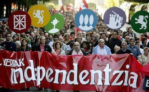 Solo el 9% de los vascos apuesta por una ruptura soberanista