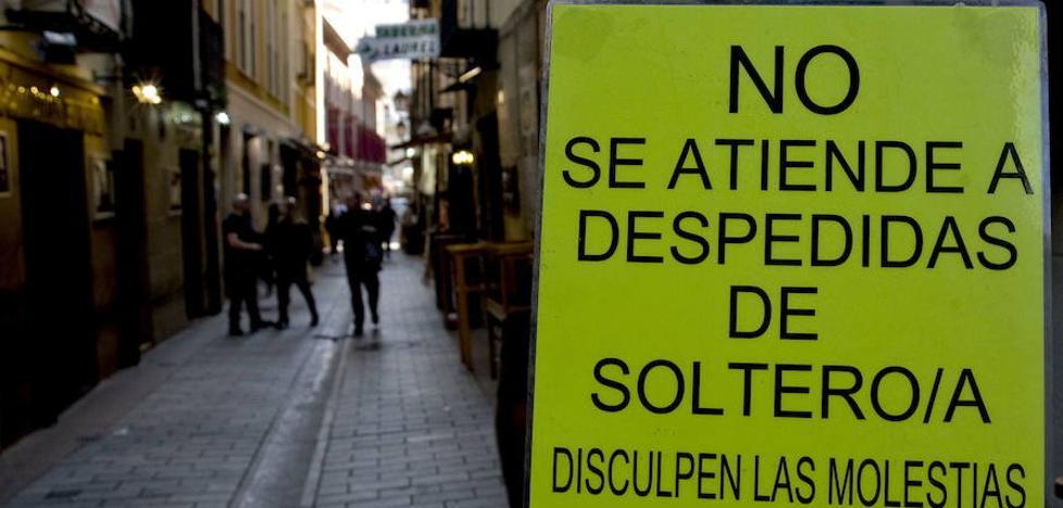 Las despedidas de soltero empiezan a ser un problema en Málaga