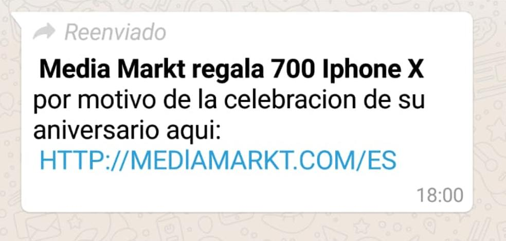 «Regalamos 700 iPhone X». Nueva estafa en nombre de Media Markt