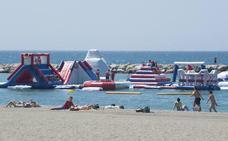 Atracciones en la playa