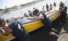 La Liga de Jábegas se disputa en aguas de Pedregalejo