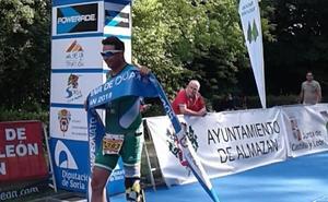Zambrana, campeón de España de paraduatlón cross