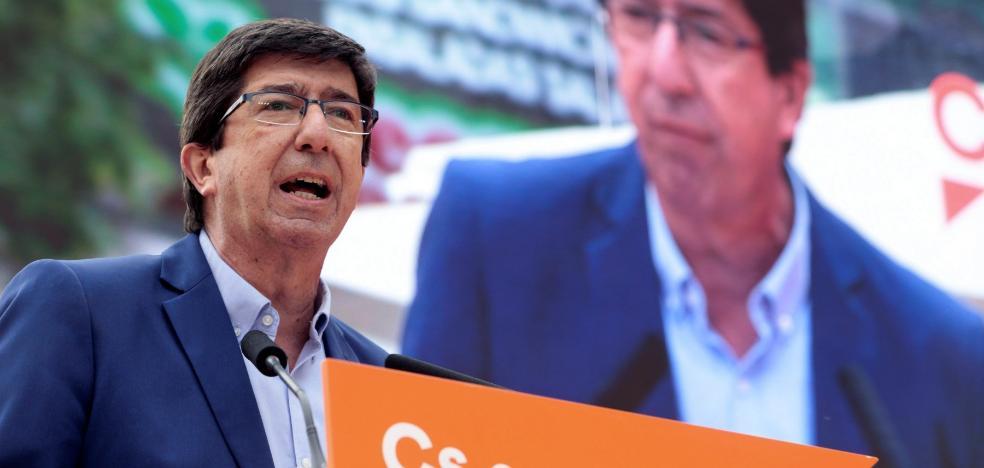Marín gana las primarias de Cs para ser candidato a la Presidencia de la Junta
