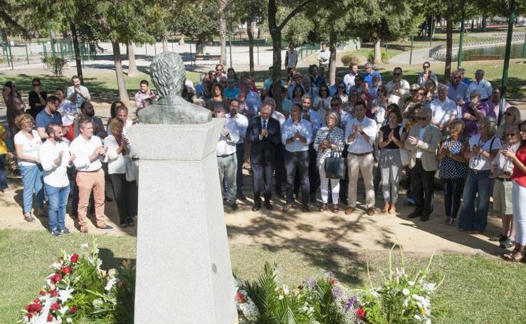 Tributo al concejal asesinado por ETA José María Martín Carpena