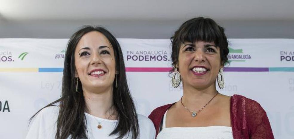 Teresa Rodríguez vapulea a la candidata de Iglesias en las primarias a la Junta