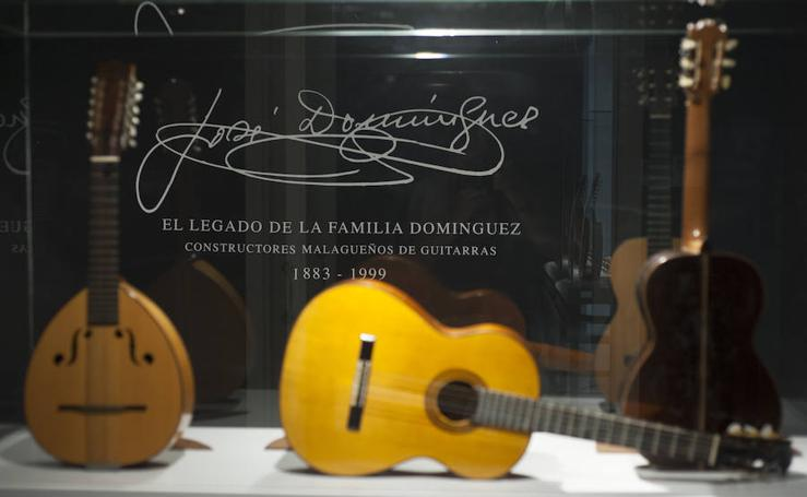 El legado de los maestros luthieres Domínguez en e MIMMA