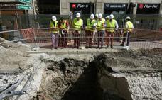 El final de la obra de la calzada central de la Alameda se aplaza a febrero