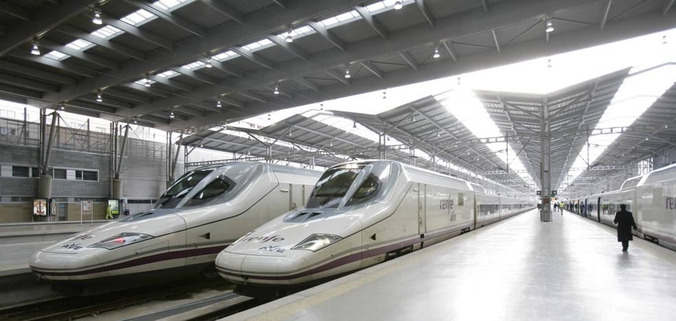 El AVE que une Madrid con Málaga gana un 2,7% de viajeros en el primer semestre