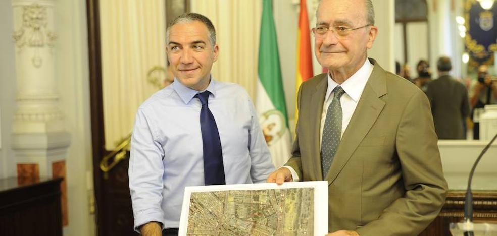 El alcalde de Málaga ofrece la parcela del Civil para el tercer hospital y sin contraprestaciones