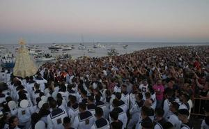 Devoción marinera a toda costa en Málaga