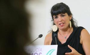 Teresa Rodríguez augura un adelanto electoral en Andalucía para octubre