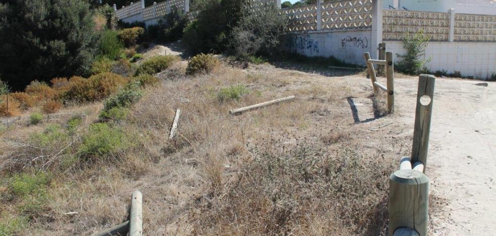 Las dunas de Real de Zaragoza sufren actos vandálicos con la llegada del verano