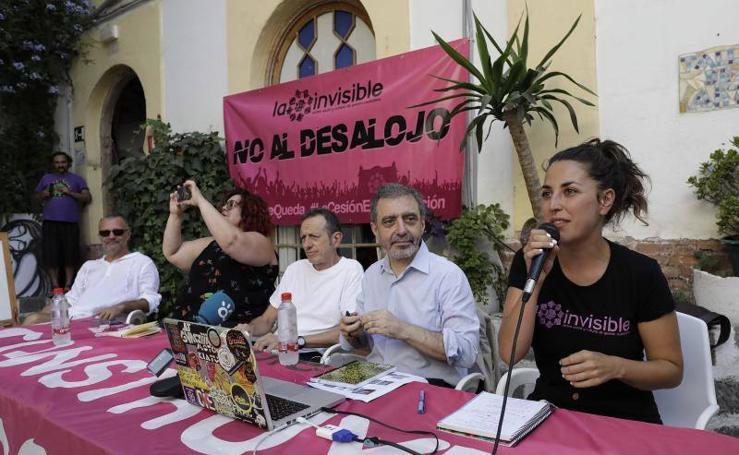 Los directores del Museo Reina Sofía y MACBA, en la Casa Invisible