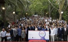 Los estudiantes malagueños de diez