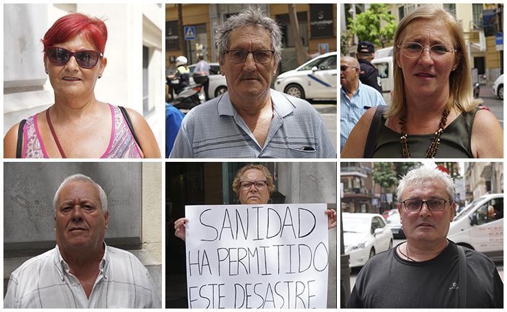 Los rostros de los afectados de iDental