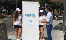 Comienza la campaña informativa que el Ayuntamiento de Marbella plantea para mejorar la limpieza