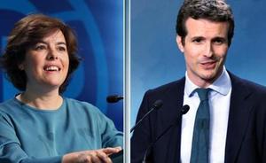 Andalucía parte dividida al congreso del PP, con un 65% de sorayistas y un 35% de casadistas