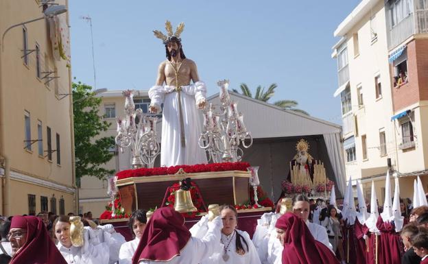 La asociación de Jesús Despojado de Dos Hermanas recibirá 4.000 euros para comprar un trono. /SUR