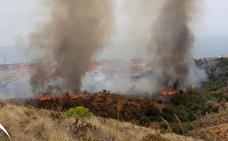 Controlado el incendio en el paraje de El Higuerón
