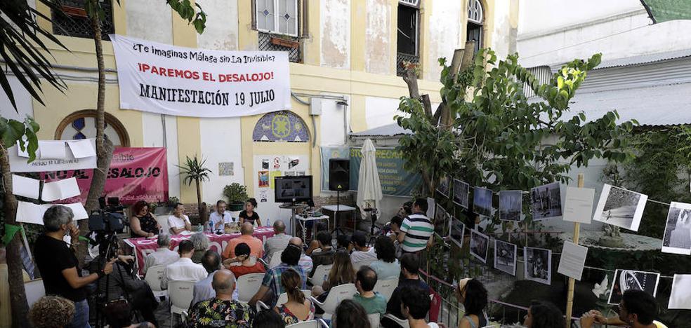 La Casa Invisible saca músculo cultural en puertas de su desalojo