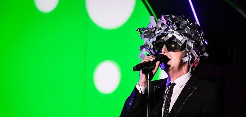 Pet Shop Boys transforman el auditorio de Marbella en una discoteca