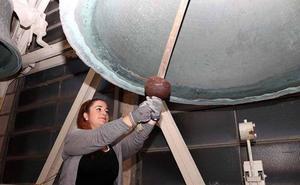 Un concierto de campanas estrena los actos por el VIII Centenario de la Catedral de Burgos