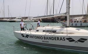 El barco 'Antonio Banderas Design' lucha por revalidar su título en la 37 Copa del Rey de Vela