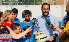 El PSOE pide al Ayuntamiento de Málaga apoyo para el CD 26 de febrero en el torneo 'Promesas Andaluzas 101TV'
