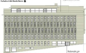 Así será el hotel en el solar del cine Andalucía