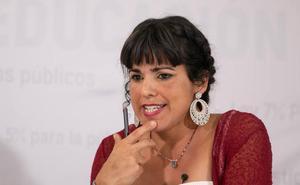 Teresa Rodríguez: «Antonio Maíllo y yo no competiremos, iremos en la misma lista, formaremos un tándem»