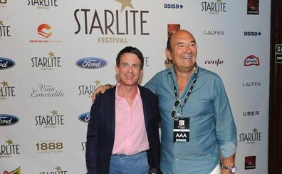 Manuel Valls, en el concierto de Sting en Marbella