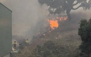 Fotos | Las imágenes del incendio de Casares