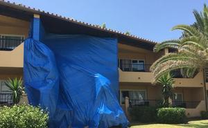 Hallan el cuerpo de una mujer tras el incendio en una habitación en un hotel de Marbella