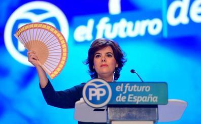 Sáenz de Santamaría: «Soy la candidata de las bases»