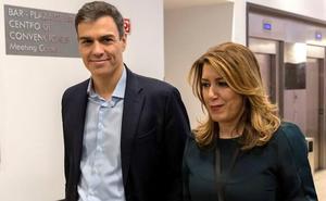 Susana Díaz confía en un gesto de Pedro Sánchez con Andalucía sobre empleo