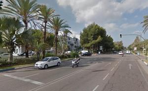 Un accidente entre dos turismos se salda con cuatro personas heridas en Marbella